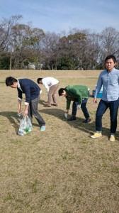 清掃活動①