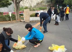 松山城清掃活動写真2