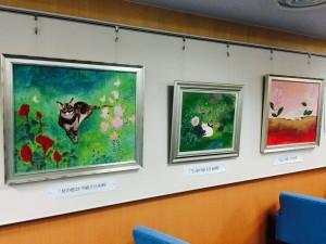 西山さん動物画展
