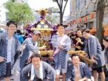 今年も町会主催の祭礼「諏訪神社例大祭」に参加しました!