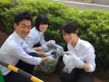 大和西大寺駅周辺の清掃活動を実施しました!