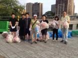 花火大会翌日のボランティア清掃に参加しました!