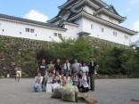 和歌山城の清掃活動を実施しました!