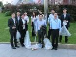 9月も「警固公園」の清掃活動を行いました!
