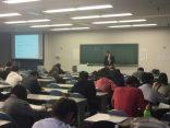 四天王寺大学経営学部にて講義をさせていただきました!