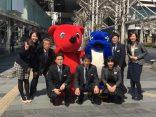 千葉県警と協働でチラシ配布活動をしました!
