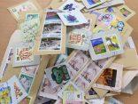 使用済み切手の回収活動に取り組んでいます!