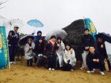29年春の鳥取砂丘一斉清掃に参加しました!