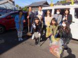 地域の学生の皆さまと清掃活動を実施しました!