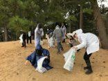 鳥取砂丘の清掃活動を行いました!