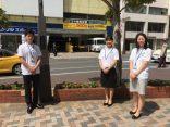柏西口商店会の花植え活動に参加しました!