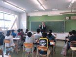 中学生に向けた職業講演会を行いました!