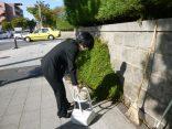 芦屋市船戸町清掃活動に参加しました!