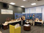 「つるを編む・籐工芸」ロビー展を開催中です!